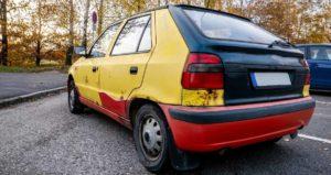 Co potřebuji k ekologické likvidaci auta
